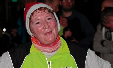 Liz Naismith glowing