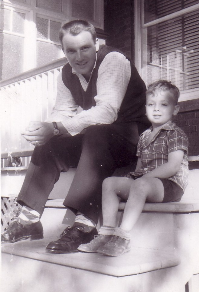 HADDEN Ian and Uncle Jim June 1958