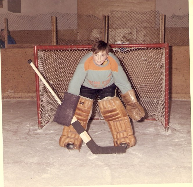 HADDEN Ian goalie abt 1969