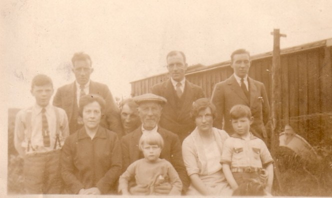 John Gaull and family