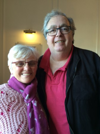 HADDEN Ian with Pamela Gaull May 2015
