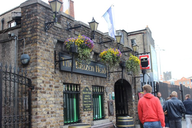 The Brazen Head Pub, Dublin, Ireland (photo by Ian Hadden, 2015)