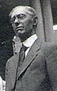 Thomas Elliott Knox (photo taken abt. 1923 during visit to orillia, Ontario, Canada)