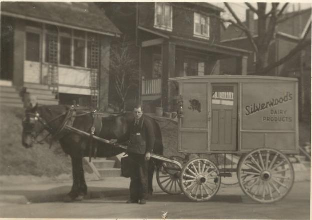 HADDEN John Gaull Silverwoods Dairy delivery 1938