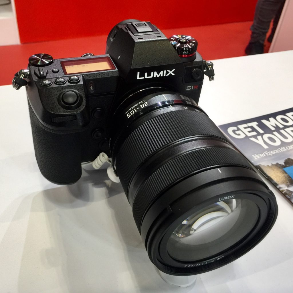 Panasonic LUMIX SR1 full frame mirrorless camera