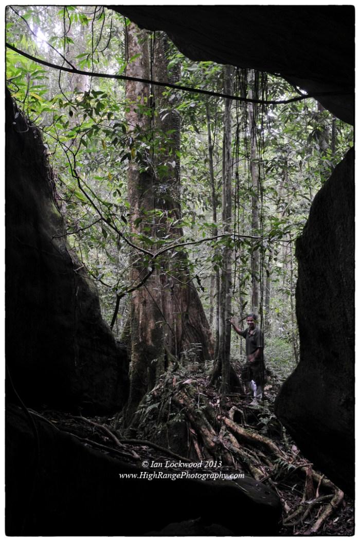 Cave on Sinhagala trail