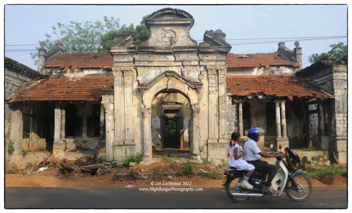 LIfe goes along Jaffna's Main Street