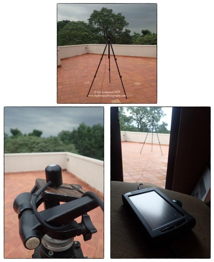 Measuring raddiance (in w/m2) in a Colombo neighborhood