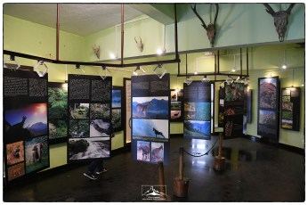 Rajamalai interpretation center in Eravikulam National Park. Stunning images on informative display boards highlight the biodiversity and landscape as well as the threats of this critical Western Ghats protected area.