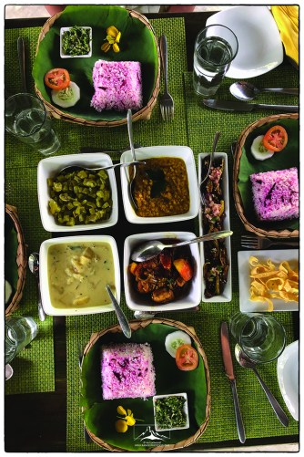 A scrumptious meal at Backwaters.