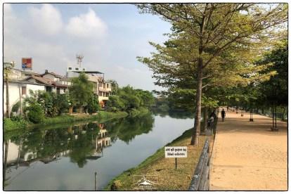 Colombo's Nugegoda Wetland Park.