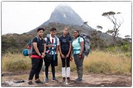 Mid-way on the climb up to Sri Pada. (January 2020)