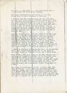 Ackgrass Photocopy of Carbon Copy of Original Draft Feb 1984 Page 1 of 2