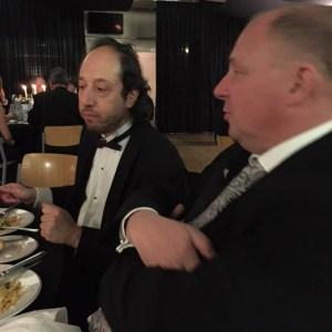 Ged and Sir Nigel Pontificating Nicaragua