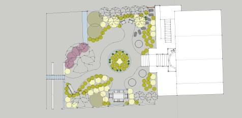 Berkeley Cottage Garden Concept Plan Refined