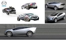 Mazda concept board