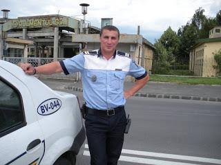 Poliţiştii au simţul umorului