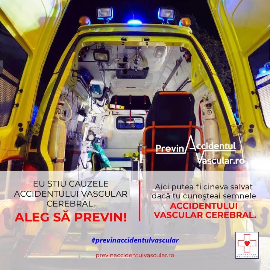 Ziua Mondială a Accidentului Vascular Cerebral (AVC)
