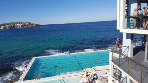 The pools near Bondi
