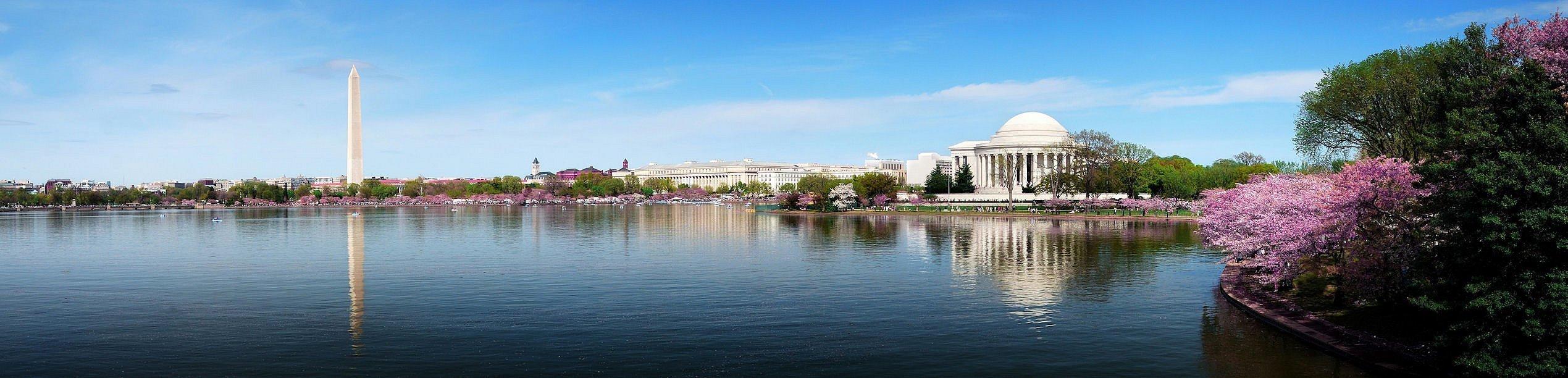 Ian's Nation's Capital Learning Moments blog header photo. A panoramic photo of the Washington D.C. skyline.