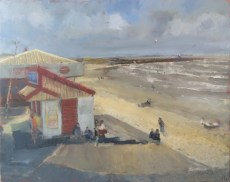 Myra's Kiosk, Porthcawl by Ian Price