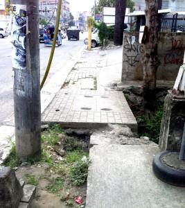 Challenging Philippines Sidewalk