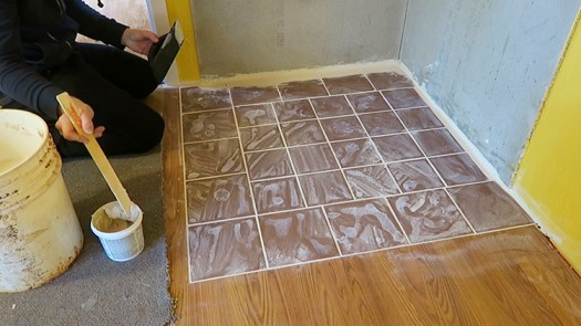How to Apply Grout - Grouting is Fun