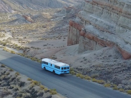 The Bus at Red Rock Canyon