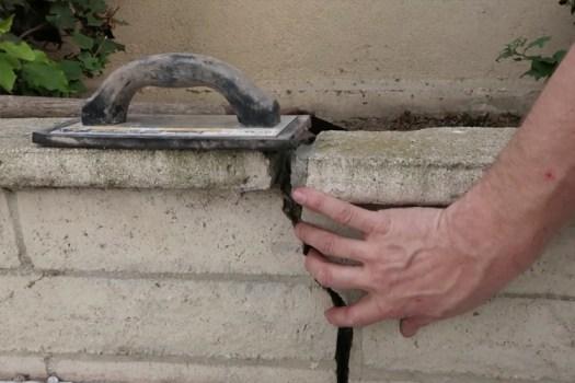 Brick Mortar Repair - The Original Crack in the Wall