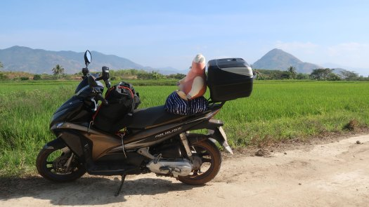 Honda Airblade - Motorcycle for Crossing Vietnam