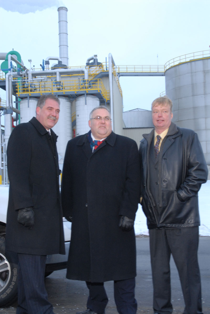 Official IGPC plant opening in Aylmer, December, 2008