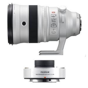 Fujifilm XF 200mm f2 R LM OIS WR Lens with 1.4X XF TC f2 WR Tele-converter