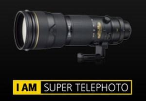 Nikon 200-400mm f4 G VR II AF-S ED Lens