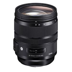 Sigma 24-70mm F2.8 DG OS HSM Art Lens - Canon