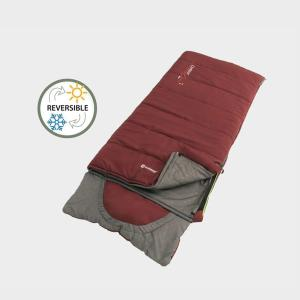 Outwell Contour Junior Sleeping Bag, RED/RED