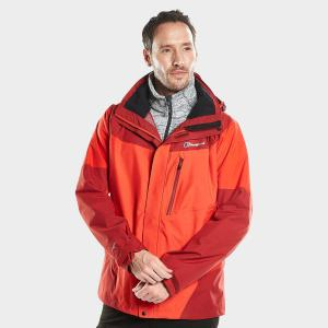 Berghaus Men's Arran Waterproof Jacket - Red/Red, Red/Red