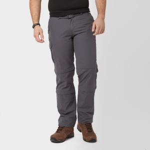 Brasher Men's Double Zip Off Trousers - Grey/Gry, Grey/GRY