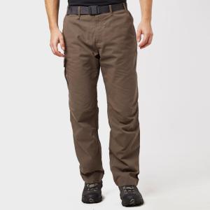 Brasher Mens Lined Walking Trousers - Brown/Brown, Brown/Brown