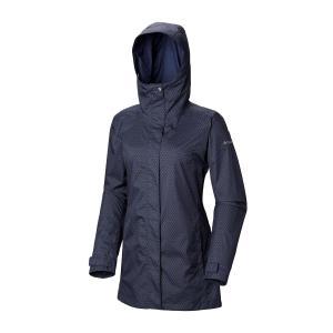 Columbia Women's Splash A Little Waterproof Jacket - Navy/Little, NAVY/LITTLE