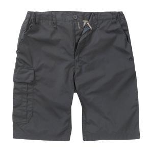 Craghoppers Men's Kiwi Long Shorts - Blk/Blk, BLK/BLK