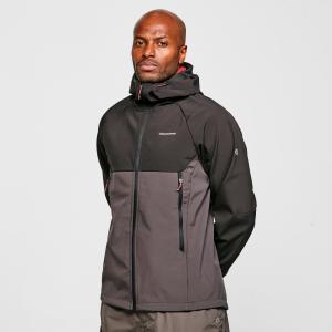 Craghoppers Men's Trent Softshell Jacket - Black/Blk, Black/BLK