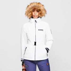 Ellesse Women's Colledge Ski Jacket - White/Jkt, White/JKT