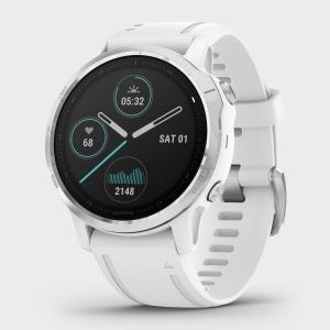 Garmin Fenix 6S Multi-Sport Gps Watch - White/Wht, White/WHT