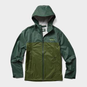Merrell Men's Fallon Waterproof Jacket - Green/Green, Green/Green