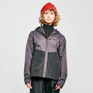 Oex Women's Phase Waterproof Jacket - Grey/Blu, Grey/BLU