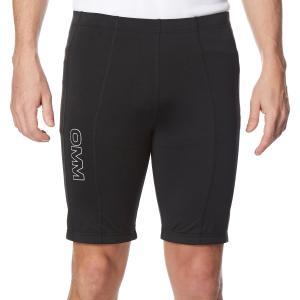Omm Men's Flash 0.5 Short Cut Running Leggings - Black/Blk, Black/BLK