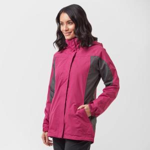Peter Storm Women's Lakeside 3 In 1 Jacket - Pink/Pnk2, Pink/PNK2