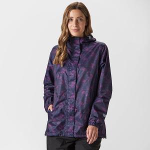 Peter Storm Women's Patterned Packable Jacket - Purple/Pup, Purple/PUP