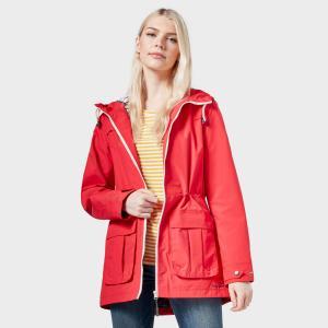 Peter Storm Women's Weekend Waterproof Jacket - Red/Red, RED/RED