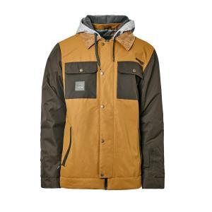 Protest Men's Austin Ski Jacket - Brown/Brn, Brown/BRN